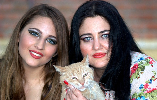 ženy s kočkou