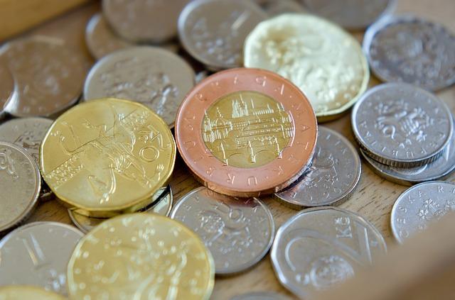 české mince
