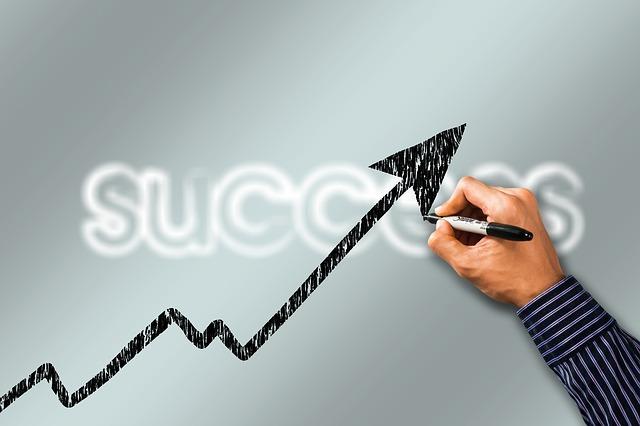 stoupání úspěchu