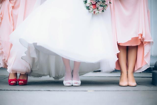lodičky na svatbě