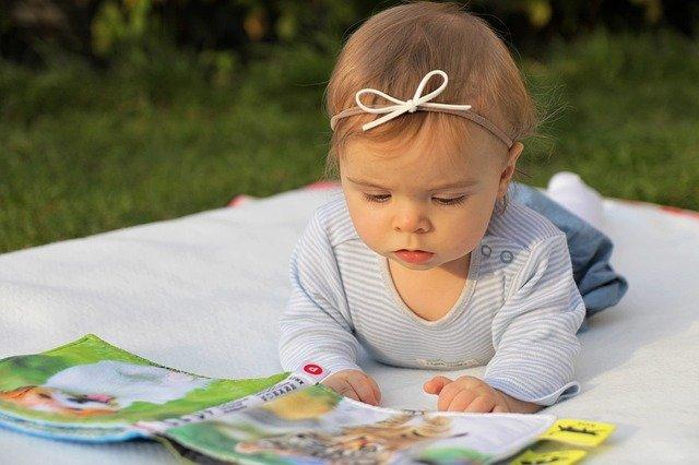 malá čtenářka