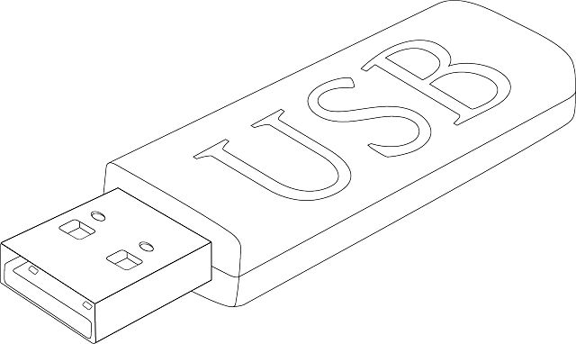 skica USB flash disku