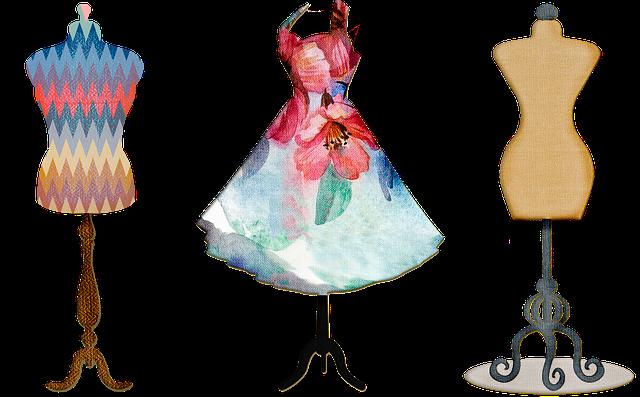 tři krejčovské panny – kreslený obrázek