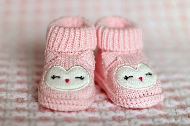 botičky pro miminko
